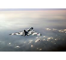 Vulcan over the Channel Photographic Print