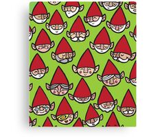 Happy Christmas Elves Canvas Print
