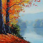 Autumn Lake by Graham Gercken