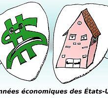 Caricature des données économiques américaines by Binary-Options