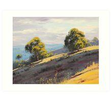 Kanimbla Valley Hills, nsw Art Print