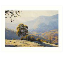 Bathurst Landscape Art Print