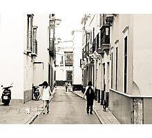 Side Ways Photographic Print