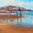 Beach Couple by Graham Gercken