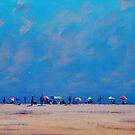 Hazy Beach Day by Graham Gercken