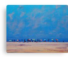 Hazy Beach Day Canvas Print