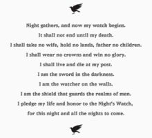 Oath of Night's Watch by hunekune