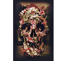 Jungle Skull Photographic Print