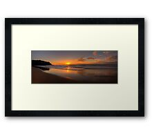 Reflections of Morn -Whale Beach, Sydney Australia  -  The HDR Experience Framed Print