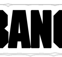 DRUMMERS BANG HARDER (DAVE GROHL, TAYLOR HAWKINS) Sticker