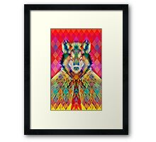 Corporate Wolf Framed Print