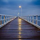Point Lonsdale Pier by Julie Begg