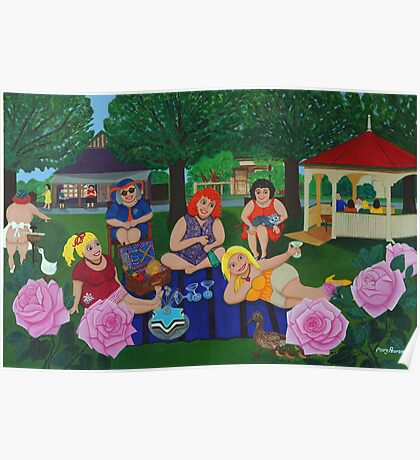 Bruthen Beauties Picnic in the Park Poster