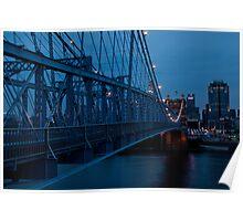 Blue in Cincinnati Poster