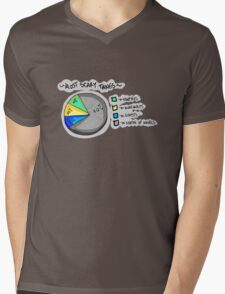 Scary Things Mens V-Neck T-Shirt