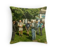A Walk In The Park...The Day Begins Throw Pillow