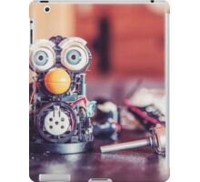 Little Robot Engineer  iPad Case/Skin