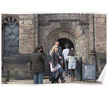 The Scottish National War Museum inside Edinburgh Castle Poster