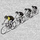 Tour De France Yellow Jersey by Bradley John Holland