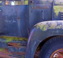 1950s International Truck Sticker