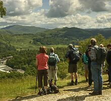 A Walk In The Park....Views To Loughrigg by Jamie  Green