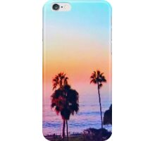 Multiple Palm Trees Sunset iPhone Case/Skin