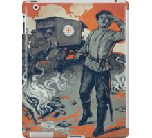 This is the only American ambulance now saving lives in Russia The American ambulance in Russia iPad Case/Skin