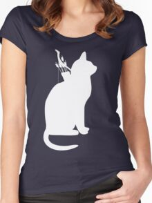 My Cats Better Than Yours Women's Fitted Scoop T-Shirt