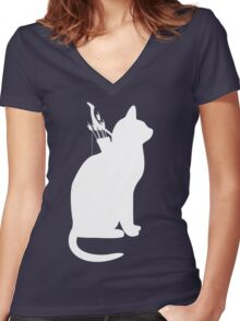 My Cats Better Than Yours Women's Fitted V-Neck T-Shirt