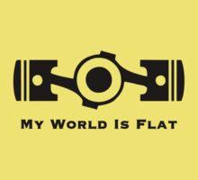 My World is Flat Baby Tee