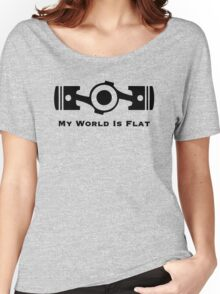 My World is Flat Women's Relaxed Fit T-Shirt