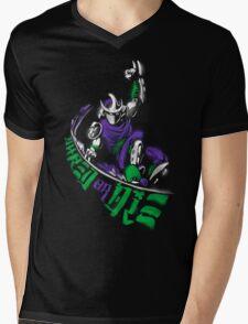 Shred or Die Mens V-Neck T-Shirt