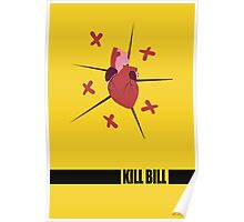 Kill Bill Minimal Fan Art Poster