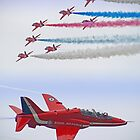 The Red Arrows - Farnborough 2012 by Colin J Williams Photography