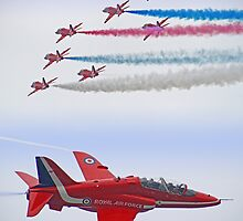 The Red Arrows - Farnborough 2012 by Colin  Williams Photography