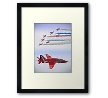 The Red Arrows - Farnborough 2012 Framed Print
