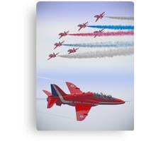 The Red Arrows - Farnborough 2012 Canvas Print