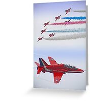 The Red Arrows - Farnborough 2012 Greeting Card