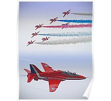 The Red Arrows - Farnborough 2012 Poster