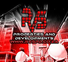 RVS Properties And Developments. Construction Business, Brand Loyalty Gifts by DRAGANGRAFIX