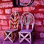 Chairs in Love by morgan earl