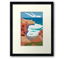 Edge of Oz #2 Framed Print