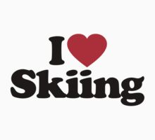 I Love Skiing by iheart