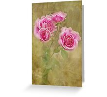 Victoriana Roses Greeting Card