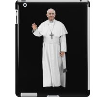 High Resolution Standing Waving Pope Francis iPad Case/Skin