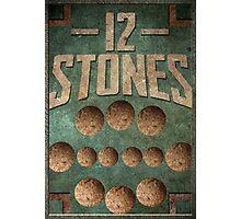 12 Stones Photographic Print
