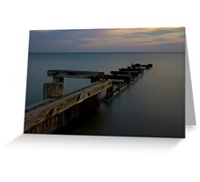 Port Phillip structure Greeting Card