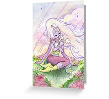 The Greatest Love - Steven Universe Opal Greeting Card