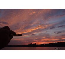 Painting the Sunset  Photographic Print