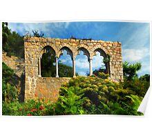 Garden View Hammond Castle Poster